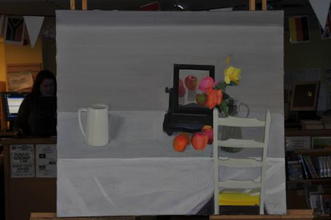 reputable site 3cf78 c522c Still Life with Apples and Dressing Table | The Argyll ...