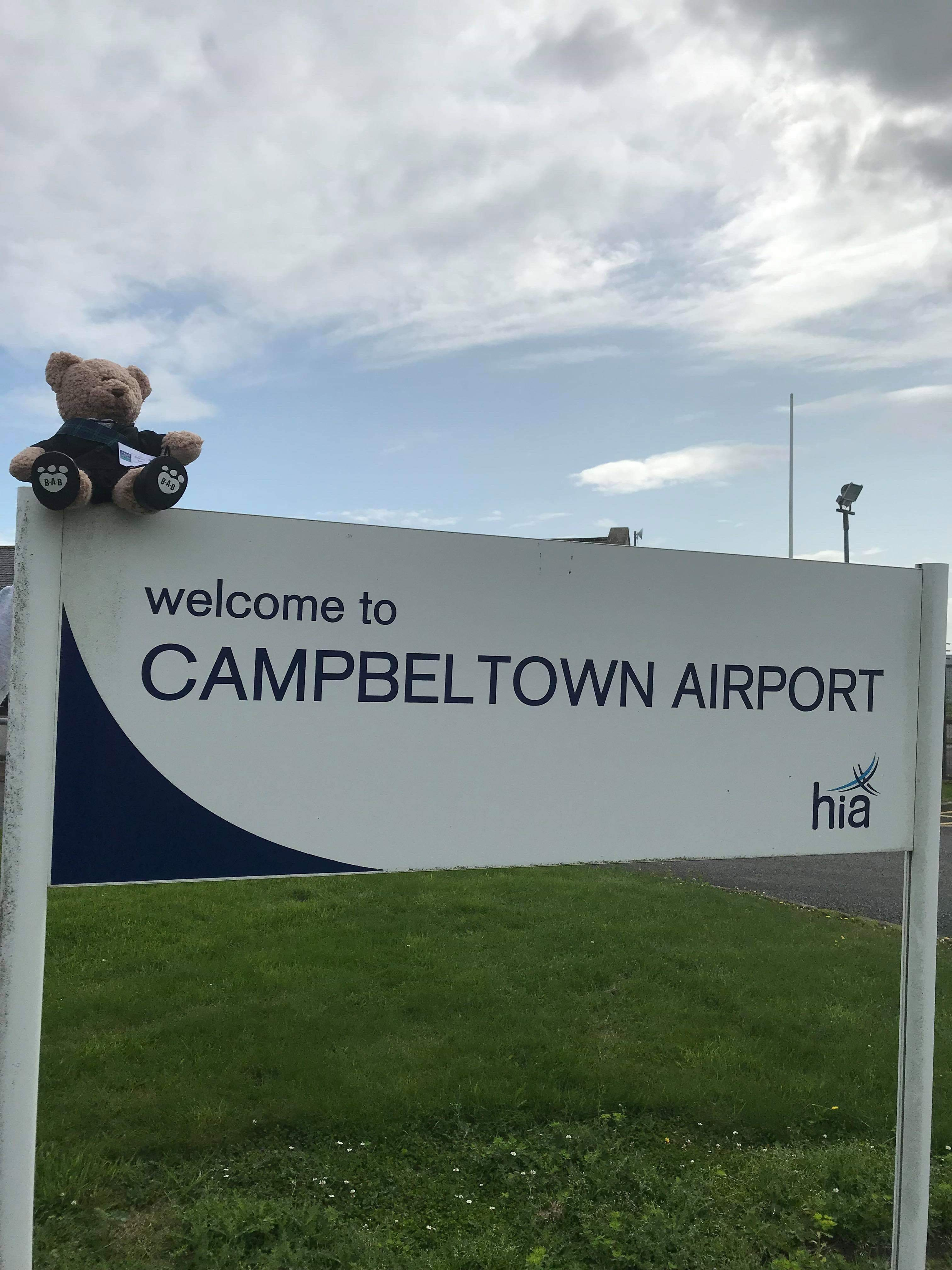 Visit to Campbeltown airport
