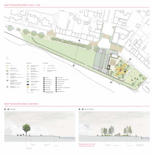 Lochgilphead Front Green proposed design - image 2
