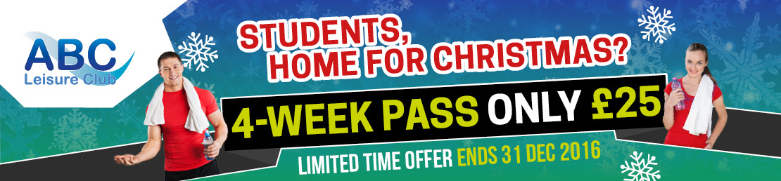 Four week student leisure pass
