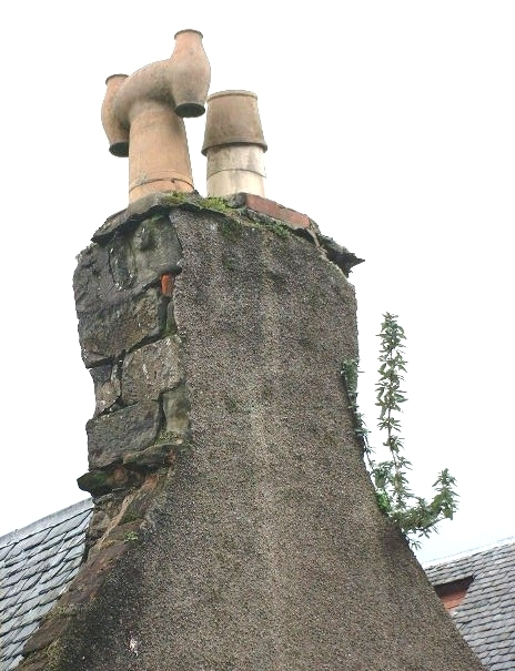 Dangerous Building - Chimney