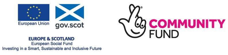 European Structural Funds and the National Lottery Community Fund logo
