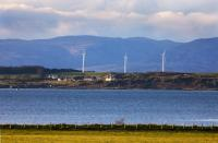 Windfarm on the Isle of Gigha