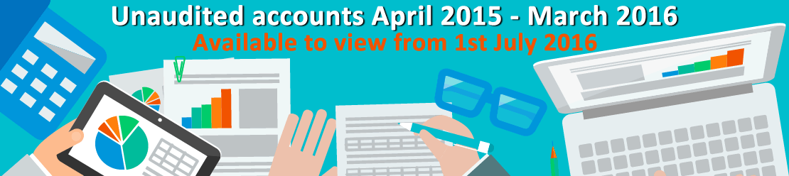 Unaudited accounts 2015/16