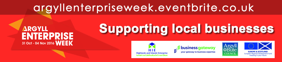 Argyll Enterprise Week