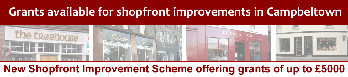 Campbeltown Shopfront Improvement Scheme