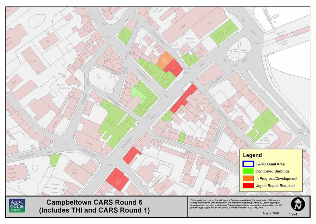 Campbeltown Regeneration Map