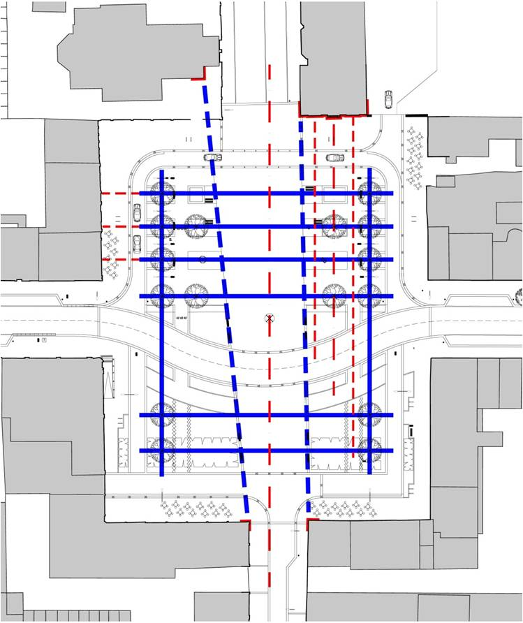 Colquhoun Square - planning grid