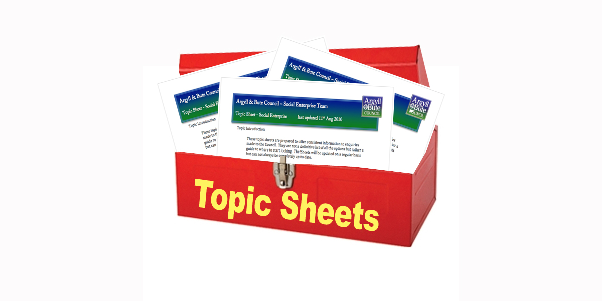 topic sheet graphic