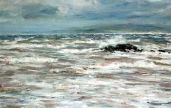 A Westerly Gale - William McTaggart