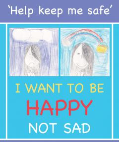 I want to be happy not sad