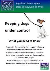 Keeping dogs under control