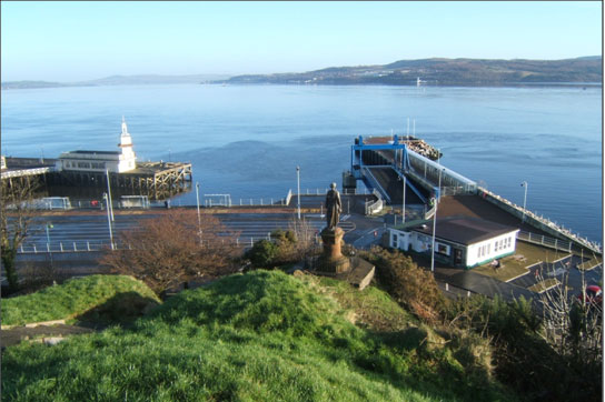 Dunoon Pier and Breakwater