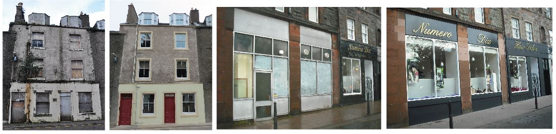 Funded repairs Before and After Campbeltown