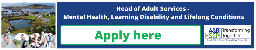 Job vacancy - Head of Adult Services - Mental Health, Learning Disability and Lifelong Conditions