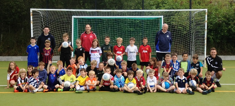 Helensburgh Football Camp 2014