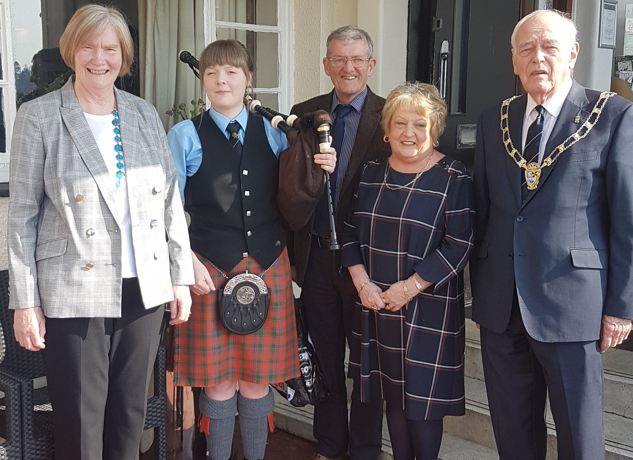 A photo of the Provost at the festival launch