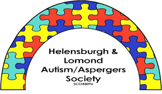 Helensburgh and Lomond Autism Aspergers logo