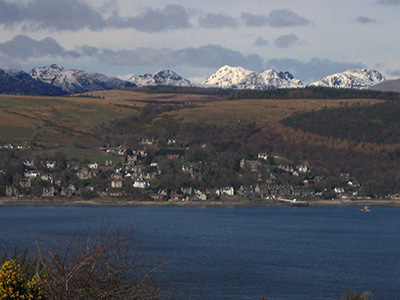 Kilcreggan and the Arrochar Alps
