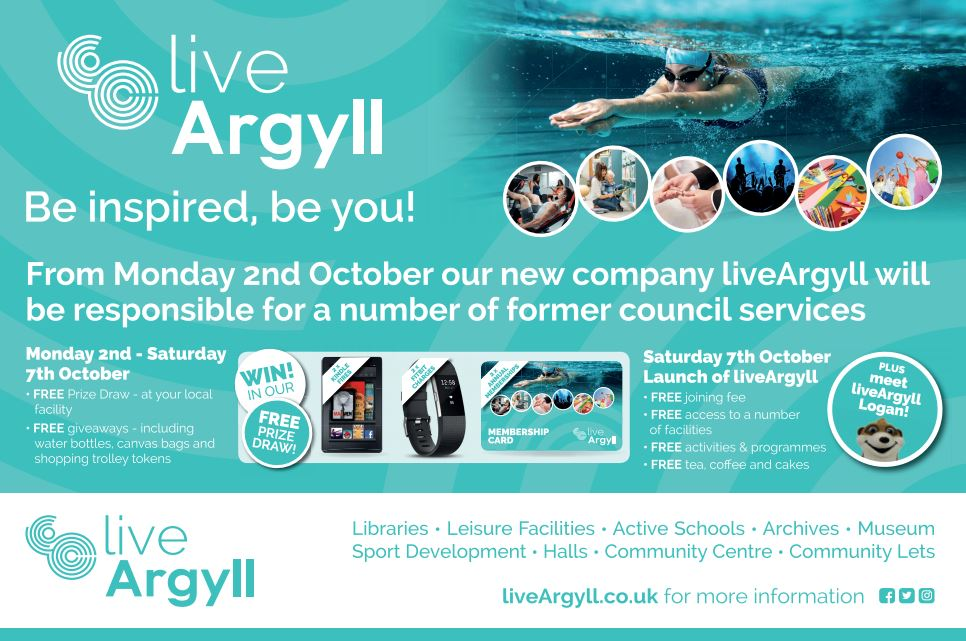 liveArgyll launch