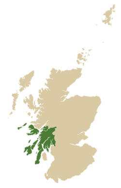 Scotland with Argyll and Bute inset