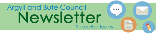 Sign up today for Argyll and Bute Council's newsletter