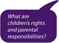 What are children's rights and parental responsibilities