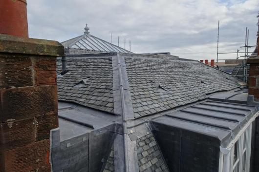 Mafeking Place - roof and lead