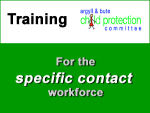 Specific contact workforce