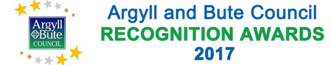 The Argyll and Bute Council Recognition Awards 2017