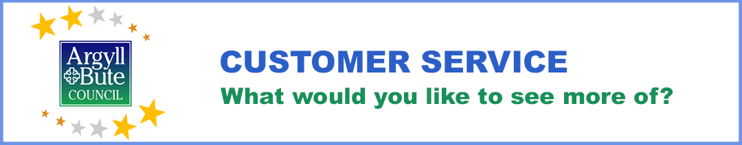 Customer Service - What do you want to see more of?