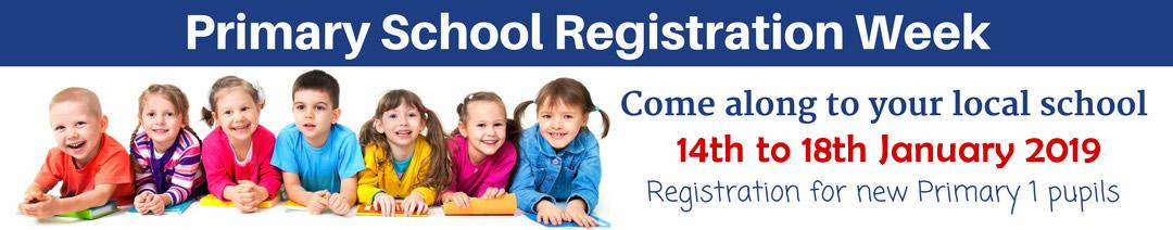 Primary School Registration 2019