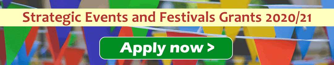 Events and festivals fund 2020/21