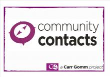 Community Contacts- support to find out about self-directed support (SDS)