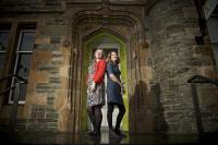ann campbell and jenny hunter from dunoon burgh hall