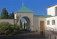 A photo of the external area at Cardross Crematorium