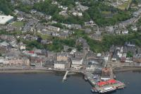 aerial photo of Oban