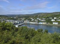 A view of the village of Tarbert