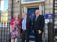 Councillor Aileen Morton, David Mundell and Cleland Sneddon