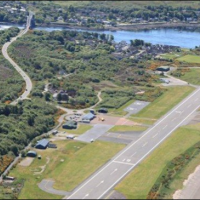 Oban Airport Business arial view