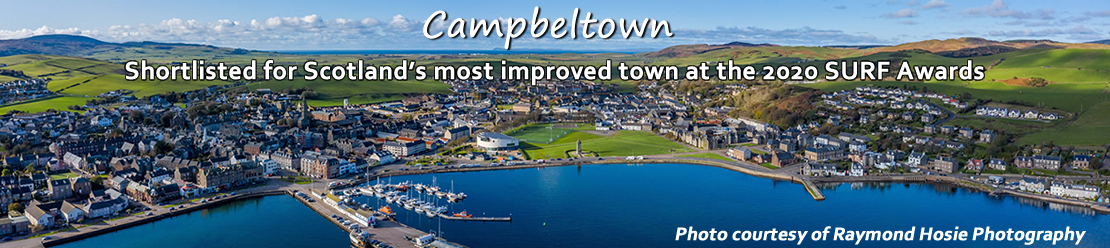 Shortlisted for Scotland's most improved town at the 2020 SURF Awards