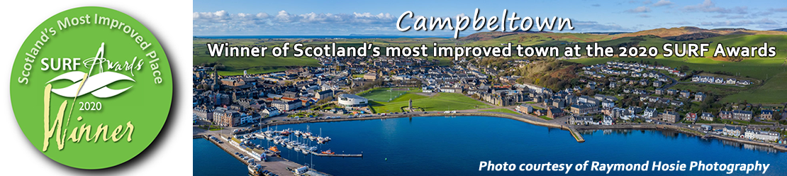Winner of Scotland's most improved town at the 2020 SURF Awards