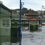 Flooding in Rothesay