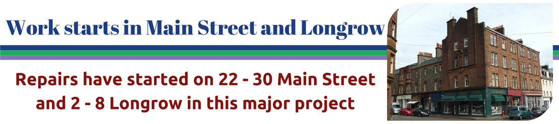 Work starts on Main Street and Longrow